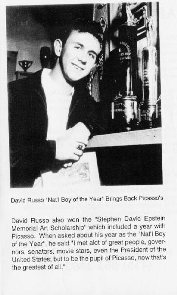 David Russo News Article - Student of Picasso