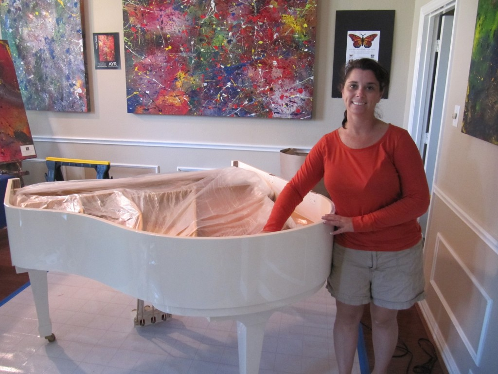 Melissa Ayr - Baby Grand Piano - Protecting the Parts