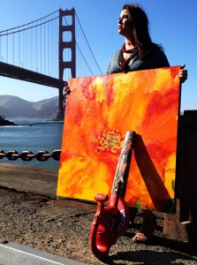 Melissa Ayr - Poppy Collection - Honey - Golden Gate Bridge 75th