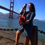 Melissa Ayr - Poppy Collection - Leaf Blower - Golden Gate Bridge 75th