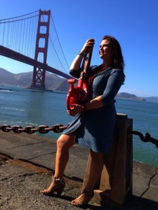 Melissa Ayr - Poppy Collection - Leaf Blower - Golden Gate Bridge 75th