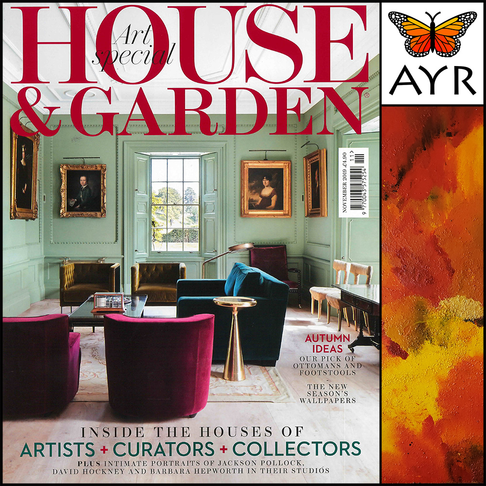 Melissa Ayr - As seen in House & Garden Magazine